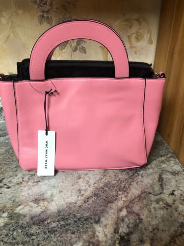 New Who What Wear Chateau Rose Purse Hand Bag