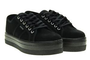 Negro Plataforma Victoria Mujer 09205 Con A18s Zapatillas Bajas xXqwzRO0