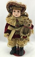 Boyds Yesterday's Child Doll Collection 4901 VICTORIA PORCELAIN DOLL
