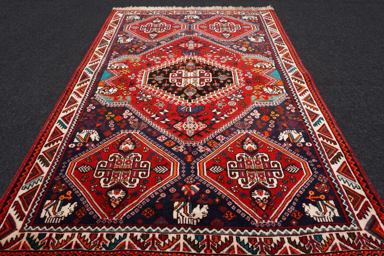 TAPPETO Orientale ponte 153 x 108 cm cm cm Tapis persan mano intessuti CARPET RUG TAPPETO a32452