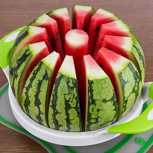 Pastèque Fraise Fruits Découpe Cuisine Outils en acier inoxydable Melon Trancheuse