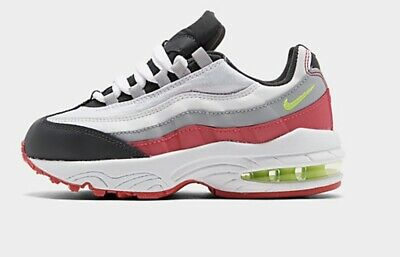 GIRLS: Nike Air Max '95 Shoes, AnthraciteRush Pink Size 13C