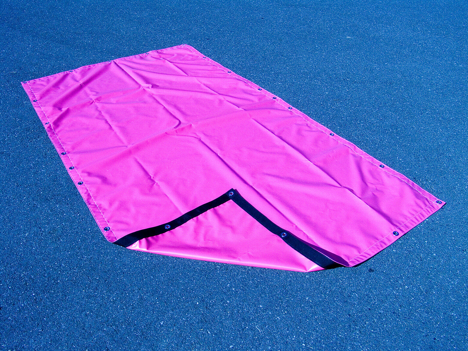 Pink Tarp 5/' X 9/' Vinyl Heavy Duty Waterproof Weatherproof