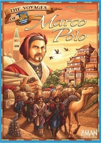 The Voyages of Marco Polo Board Game, Z-Man, Strategy, 2-4 Players, 1-2 Hours