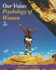 Our Voices: Psychology of Women by Elizabeth Rider (Paperback, 2004)