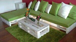 Tavolino in legno 120x50 con Pallet Bancali EUR EPAL arredamento ...