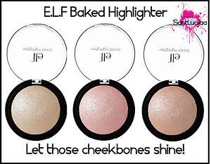 E-L-F-ELF-BAKED-HIGHLIGHTER-PINK-GOLD-BLUSH-BLSHER-HIGHLIGHTING-PRESSED-POWDER