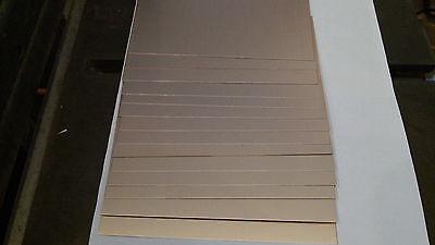 3 X 4 1 oz .060 18 pcs  Copper Clad Board Laminate PCB Single Sided FR-4