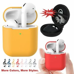 Pour-Apple-Airpods-Case-Cover-DEL-Visible-airpod-2nd-Generation-Auge-Peau