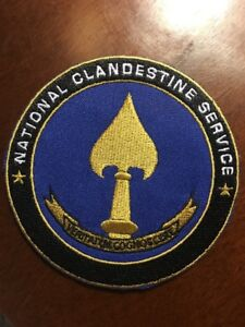 CIA-PATCH-NATIONAL-CLANDESTINE-SERVICE-CENTRAL-INTELLIGENCE-AGENCY-3-9-Inches