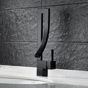 Image Is Loading Modern Bathroom Sink Taps Bath Basin Mixer Tap