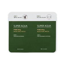 Missha Super Aqua Pore-Kling Nose Dual Patch Blackhead Clear 5-sheet (10-strip)