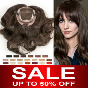 Russian-8A-Virgin-Human-Hair-Silk-Mono-Topper-Hairpiece-Replacement-System-P255