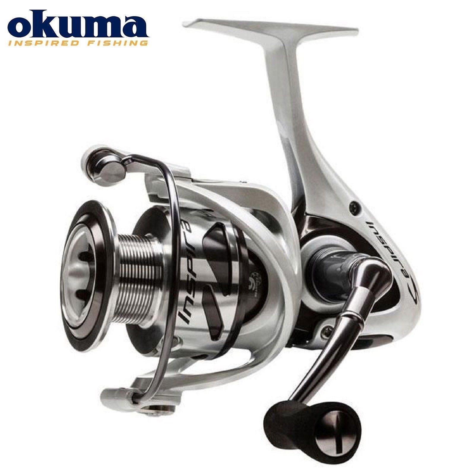 Okuma Inspira Front Drag Spinning Reel ISX-20W   ISX-30W