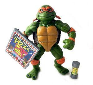 Movie-Star-Mike-Vintage-TMNT-Ninja-Turtles-Action-Figure-1992-90s-Michelangelo