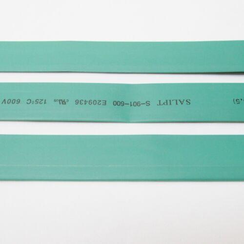 "inch//feet//to 20mm 3//4/"" ID Green Heat Shrink Tube 2:1 ratio 0.75/"" 2x24/"" = 4 ft"