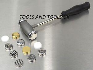 Texturing-Martelli-12-facce-capi-Texture-Design-Pattern-gioielli-metallo-repousse