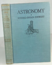 Astronomy by Russell Dugan Stewart Vol I The Solar System 1945 Hardbound Book