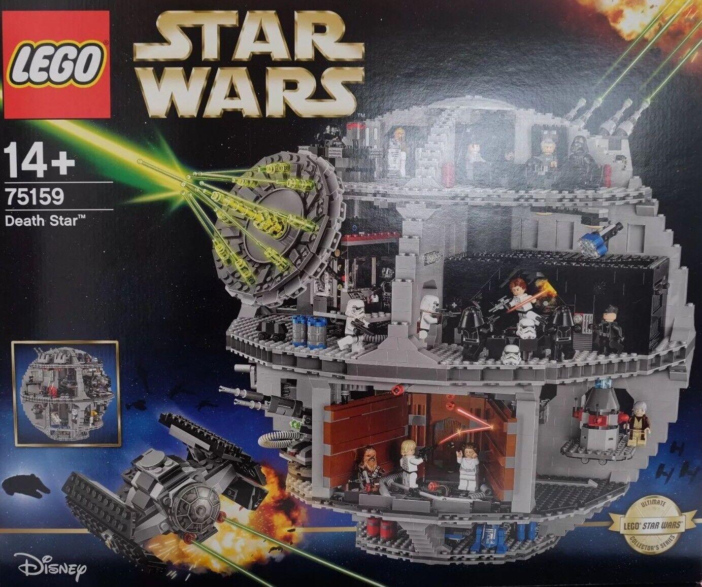 Lego Estrella Wars - 75159 estrella de la muerte-Death Estrella (como nuevo embalaje original )