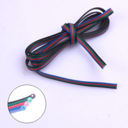 5//10//20m LED RGB Strip Kabel Cable Anschlusskabel Verbindung 2 3 4 5 adrig Litze