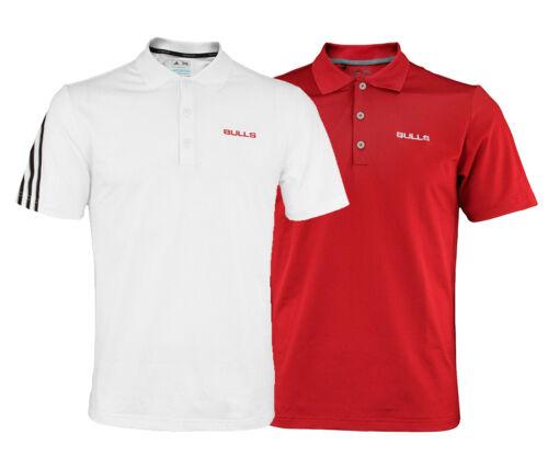 Color Options Adidas NBA Men/'s Chicago Bulls Climacool 3 Stripe Polo