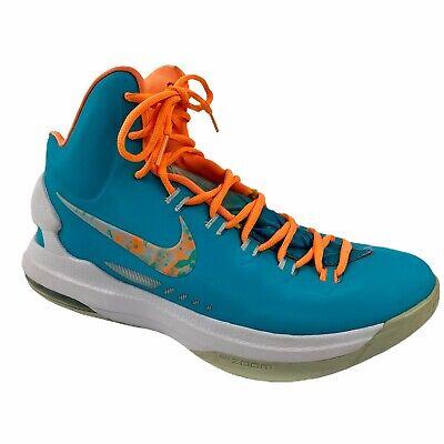 Nike Kevin Durant KD V 5 Easter Turquoise Blue Sneaker ...