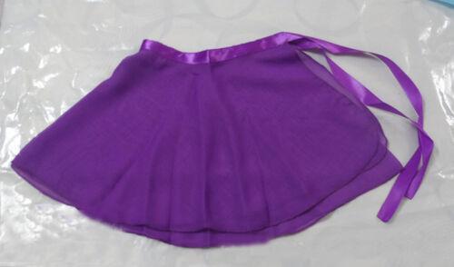 Womens Girls Ballet Leotard Wrap Scarf Tutu Skirt Dance Skate Chiffon Dresses