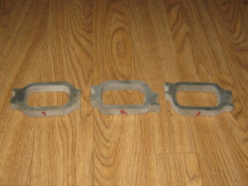 """Chevy Straight 6 230 250 292 ALUMINUM Intake Manifold Flanges 3//8/"""""""