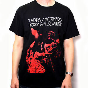 Frank-Zappa-T-Shirt-Roxy-Elsewhere-100-Official-US-Import-Beefheart-Mothers