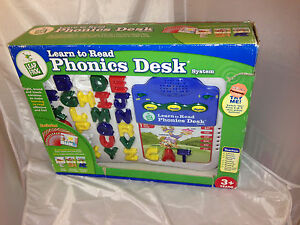 Leap Frog Learn To Read Phonics Desk System