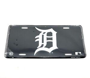 Detroit Tigers MLB Baseball Licensed Aluminum Metal License Plate Sign Tag NEW