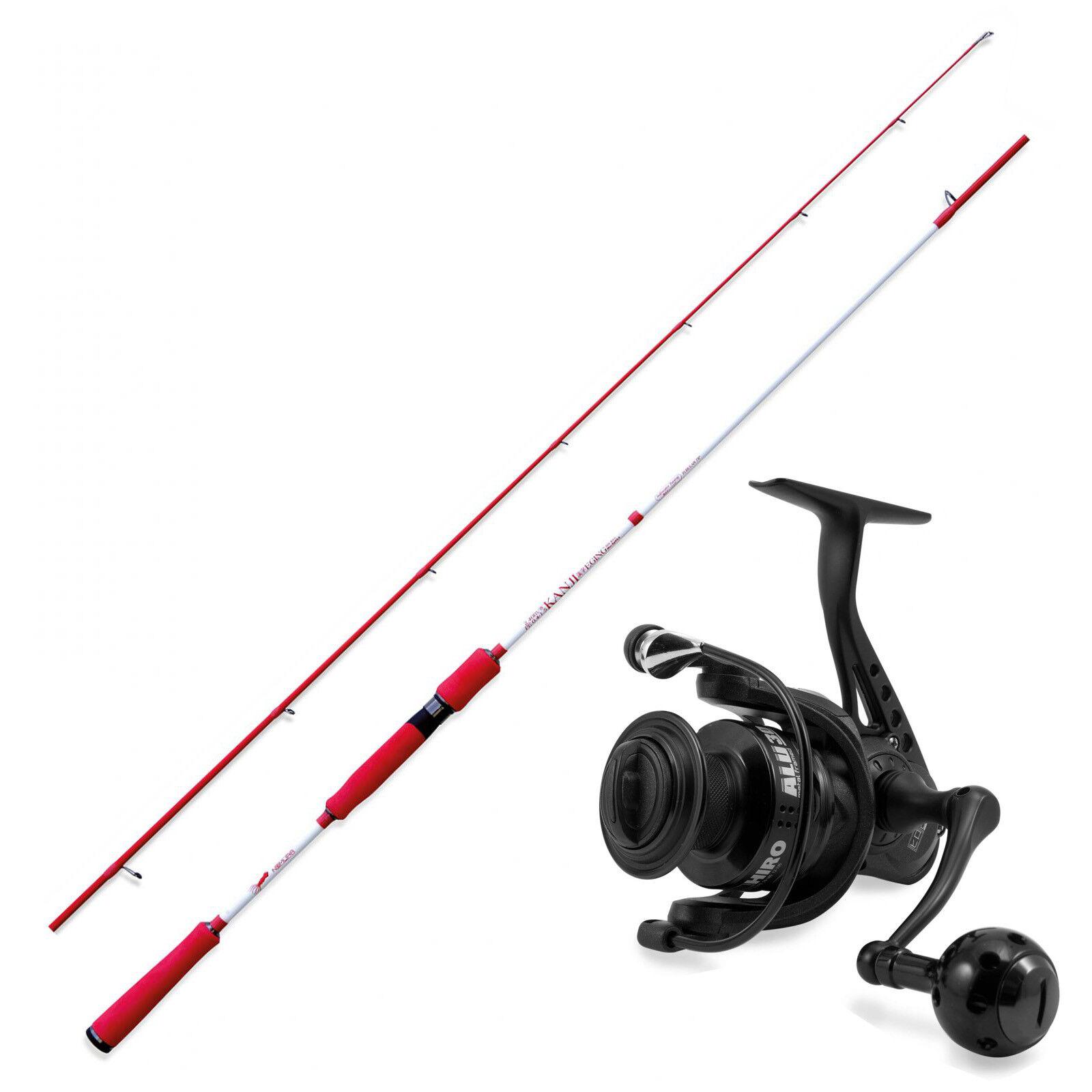 KP3652 Kit Pesca Eging Nomura Canna SW Kanji 240  Mulinello Hiro Alu 4000  CAS