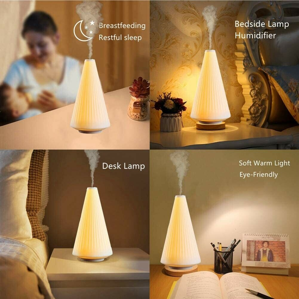 Image 1 - Desk Bedside Lamp Night Light Humidifier Soft Warm Bright Lighting Smart Touch