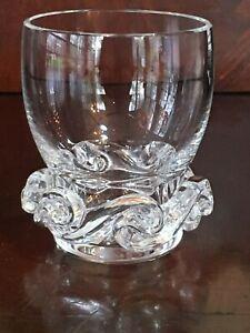 Stunning-Baccarat-Aladin-Crystal-toothpick-holder-shot-glass-vase