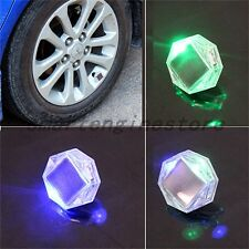 New Car Auto Solar LED Valve Lamp Solar Energy Flash Wheel Tire Valve Caps Light