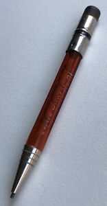 Vintage-Eberhard-Faber-Mechanical-Pencil-Tiny-No-31-See-Thru-Red-Working-USA