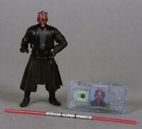Darth Maul Jedi Duel Star Wars TPM The Phantom Menace Episode I 1 loose complete