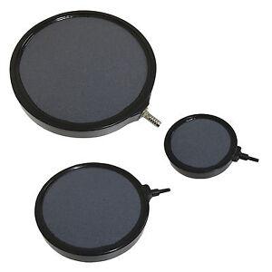 Ceramic-Air-Stone-Bubble-Ring-Disc-Pond-Aquarium-Diffuser-3-Sizes-Available