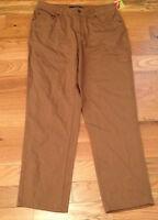 Bill Blass Brown Jeans Womens Size 8