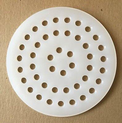 "3.5/"" rOund Drain STRAINER sink kitchen 3 1//2/"" Metal grate cover PEERLESS PRL103"