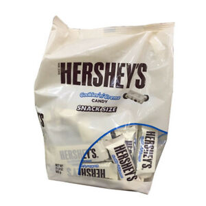 Hershey-039-s-Cookies-amp-Creme-Chocolate-Biscuit-Candy-Snack-Size-Bars-Pack-of-904G