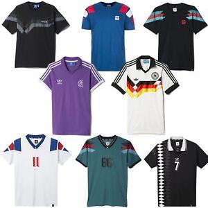 18557f0d03 Image is loading adidas-ORIGINALS-RETRO-FOOTBALL-JERSEYS-SHIRTS-MEN-039-