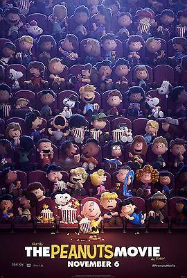 Movie Poster - Charlie Brown 2015 Snoopy Linus v15 24x36 The Peanuts Movie