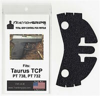Tractiongrips Rubberized Grip Overlay Decal For Taurus Tcp Pt 738 / Pistol Grips