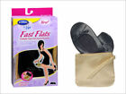 Dr Scholls Fast Flats Foldable Ballet Flats & Gold Wristlet Bag Size SM 5-6 NEW
