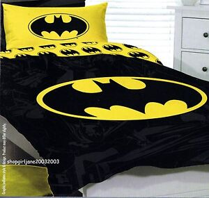 Batman Bed Sheets Double