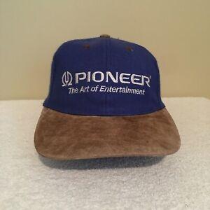 Pioneer-The-Art-of-Entertainment-Vintage-90-039-s-Wool-Adult-Mens-Baseball-Hat-Cap