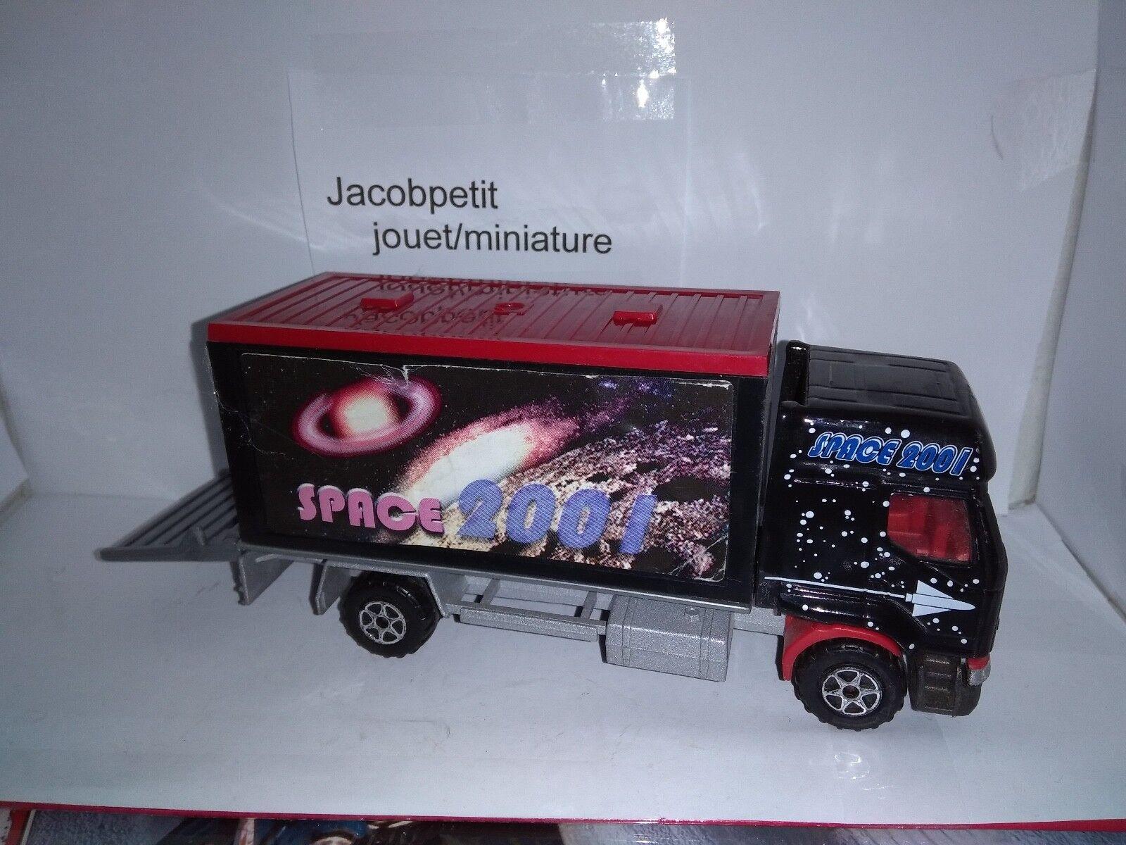 3034-B CAMION RENAULT PREMIUM LIVRAISON SPACE 2001 MAJORETTE 1/60 TRES RARE