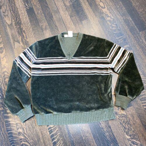 Vtg 60s 70s KENNINGTON Terry Cloth Velour SHIRT Di