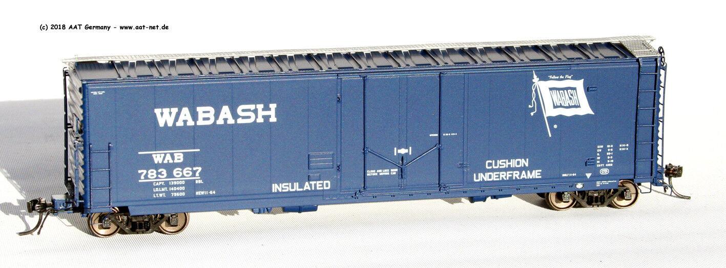 MOLOCO MOLOCO MOLOCO h0 11014-04 - 50' Boxcar Wabash.  783667 dd398f